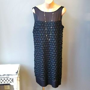 Leifsdottir Black Circle Dress